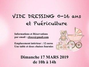 Loisirs Vide Dressing, puériculture, bourse vélos