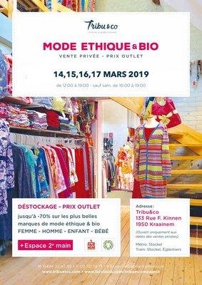 Loisirs Mode Ethique & - Grande vente privée - Outlet multi-marques