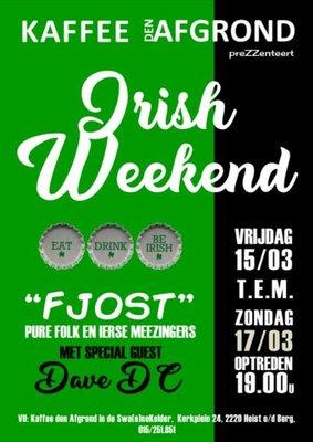 Ontspanning Irish weekend