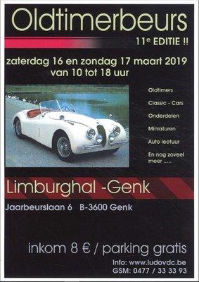 Ontspanning 11de Oldtimerbeurs Genk & expo years Mustang