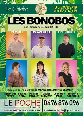 Spectacles Le Chiche présente :  Les Bonobos  Laurent Baffie