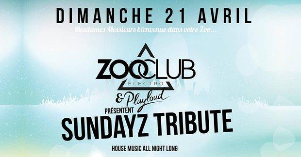 Soirées ZooClub Sundayz Tribute #3