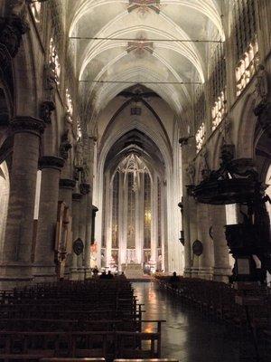 Expositions Visite l église Notre-Dame Sablon