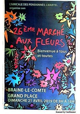 Loisirs Marché Fleurs