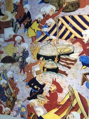 Tentoonstellingen Maak kennis reproducties canvas miniaturen het Topkapi Paleis