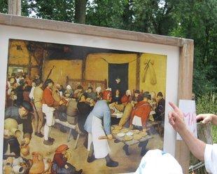 Loisirs Bruegel quête marche