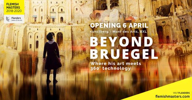 Tentoonstellingen Beyond Bruegel - Rencontrez Bruegel fil d'une expérience immersive inédite