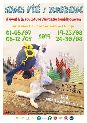 Workshops Zomerstage initiatie beeldhouwen