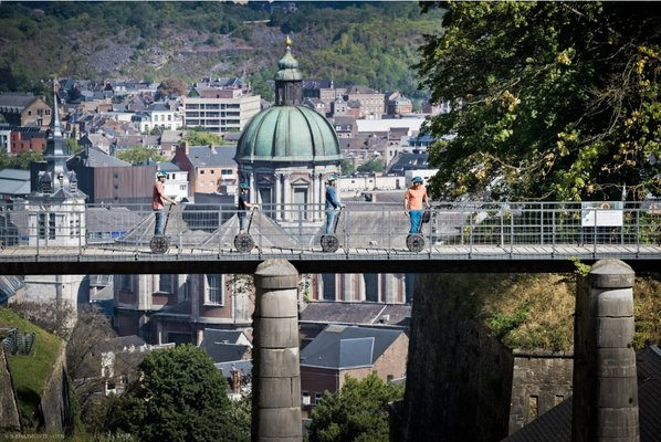 Loisirs Balade gourmande Segway - Citadelle Namur