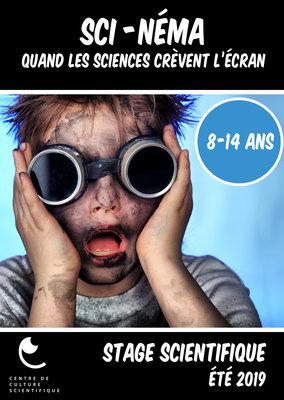 Stages,cours Sci-néma : quand sciences crèvent l écran