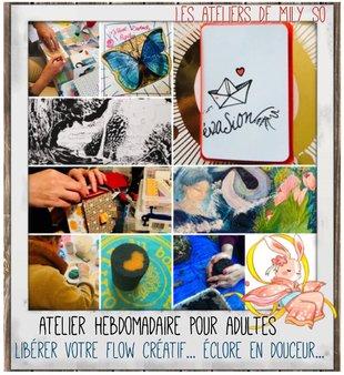 Stages,cours Atelier créatif pour adultes: libérer flow créatif - création intuition