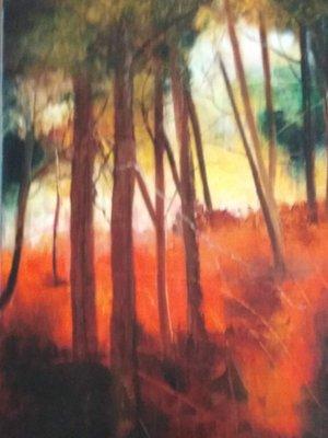Expositions Exposition peintures - Simone Dechamps