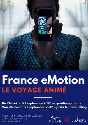 Tentoonstellingen France eMotion - Voyage animé (Animatiereis)