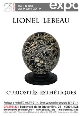 Expositions Exposition Lionel Lebeau
