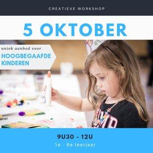 Workshops Creatieve workshops voor (vermoedelijk) hoogbegaafde kinderen