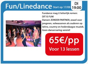 Workshops Fun/Linedance
