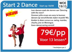 Workshops Start 2 Dance