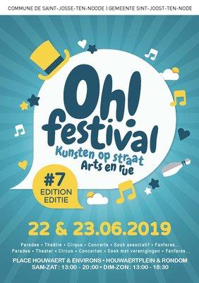 Voorstellingen Oh! Festival - Kunsten straat 7#