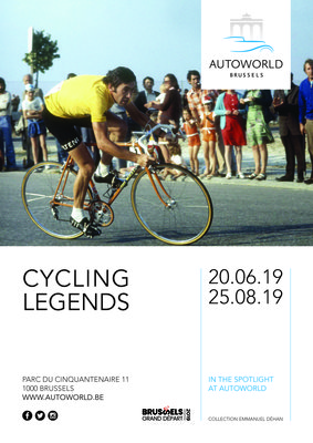 Expositions Expo Cycling Legends - Autoworld met à l heure Tour France