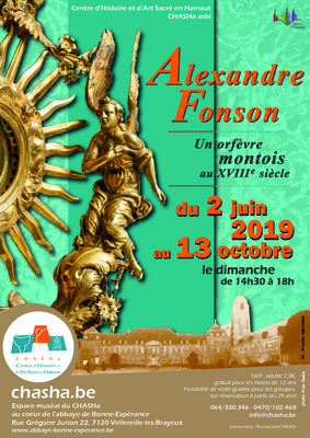 Expositions Exposition Alexandre Fonson, orfèvre montois Xviiie siècle