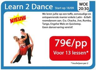 Workshops Learn 2 Dance