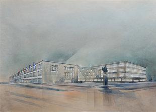 Expositions Destruction reconstruction. Ostende 1944-1958