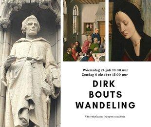 Ontspanning Begeleide wandeling Leuven+: Dirk Bouts