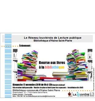 Loisirs Bourse livres à bibliothèque