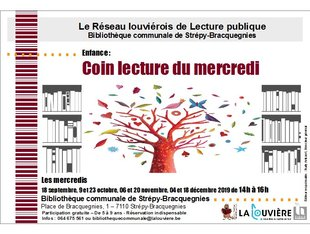 Loisirs Coin lecture mercredi