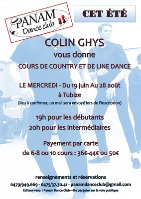 Stages,cours Cours Line Dance Country
