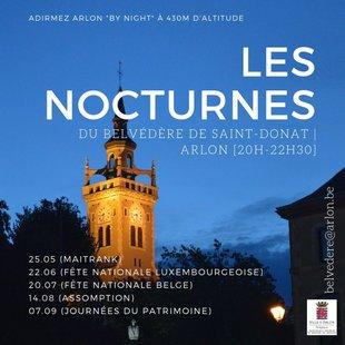 Loisirs En nocturne : panorama exceptionnel Arlon les trois frontières