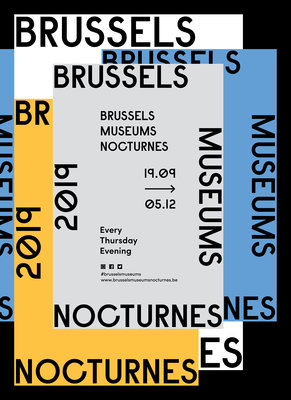 Expositions Brussels Museums Nocturnes