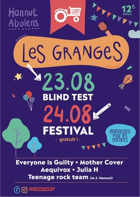 Concerts Les Granges Festival