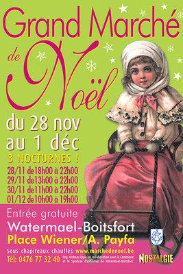Loisirs Grand Marché Noël Watermael-Boitsfort