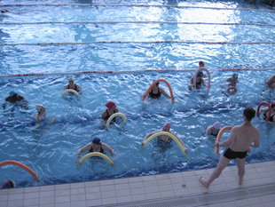Stages,cours Aquagym