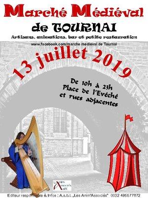 Loisirs Marché médiéval Tournai