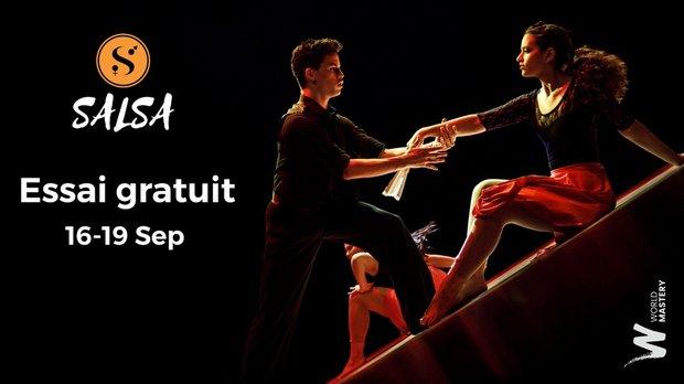 Stages,cours Essai gratuit seul en couple / Salsaliege