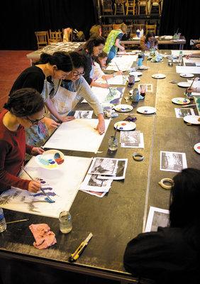 Stages,cours Peintres dimanche