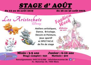 Stages,cours Stage danse multi activités