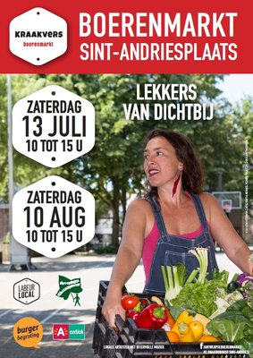 Ontspanning Kraakvers Boerenmarkt Sint-Andriesplaats