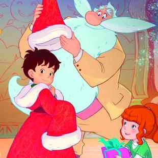 Spectacles Ciné-Goûter - L apprenti Père-Noël le flocon magique