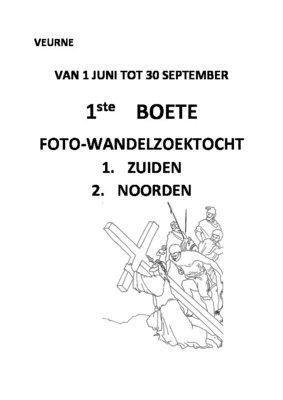 Ontspanning 1ste Boete Foto-wandelzoektocht