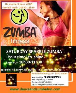 Stages,cours Samedi Zumba pour adultes ados