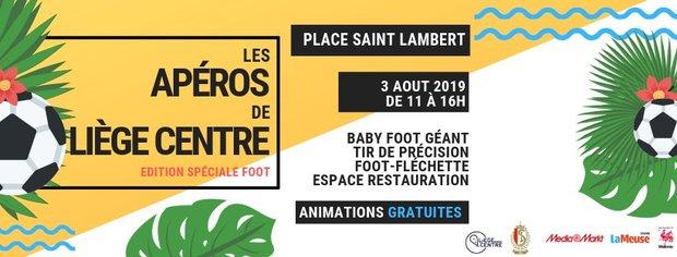 Loisirs Les apéros Liège Centre - Foot édition