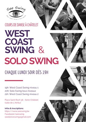 Stages,cours Cours West Coast Swing de Solo Swing