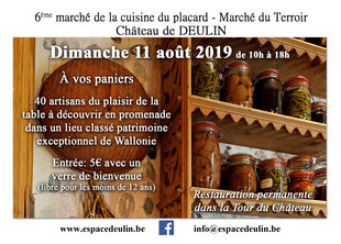 Loisirs 6ème Marché Terroir Château Deulin