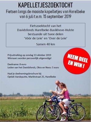 Ontspanning Kapelletjes fietszoektocht