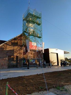 Ontspanning Beklim uitkijktoren, de brouwerij Kerkom