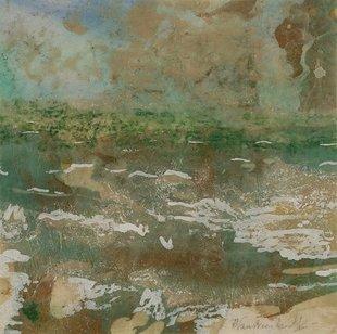Tentoonstellingen Rita Vansteenlandt schildert Noordzee