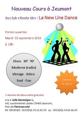 Stages,cours New Line Dance